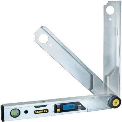 nivel/medidor de angulos digital stanley fatmax 0-42-087