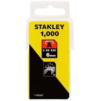 Agrafos 1-TRA204T 6.0MM 1000UNID. STANLEY