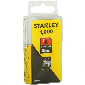 Agrafos 1-TRA205T 8.0MM 1000UNID. STANLEY