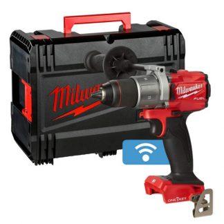 Berbequim aparafusador M18 FUEL™ ONE-KEY™, 2 velocidades, torque máximo 135Nm, bucha aperto rápido 13mm. Fornecido em versão zero, em HD-box