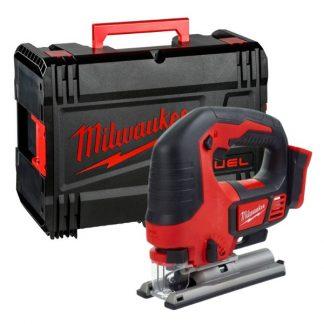 Serra de recortes M18™, capacidade máxima em madeira 135mm, curso 25mm, 0-2800gpm. Fornecida em versão zero, em HD-box