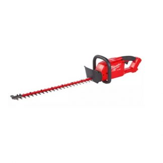 Corta sebes M18 FUEL™, comprimento de lâmina 610mm, capacidade de corte 20mm, velocidade em vazio 3400m/min, espaço entre dentes 20mm. Fornecido em versão zero