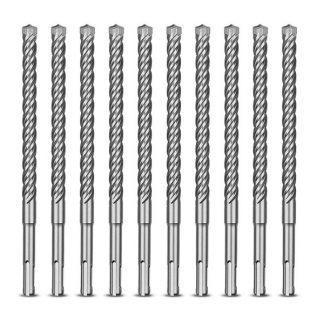 4932352043 Conjunto 10 Brocas SDS-Plus MX4 6x165mm Milwaukee