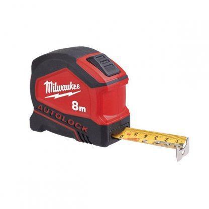 Fita métrica Milwaukee autolock 8m 4932464664