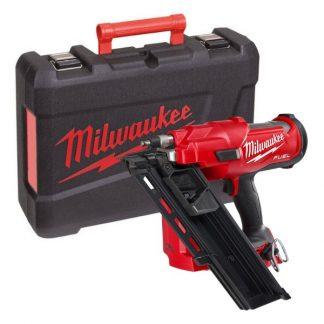 Pistola de pregos de estruturas M18 FUEL™, diâmetro do prego 2,9-3,32mm, comprimento prego 50-90mm. Fornecida em versão zero