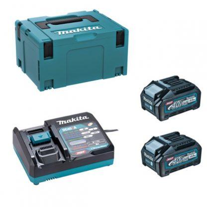 Aparafusadora BL 40Vmax XGT 140Nm 4Ah - 2 baterias com mala MakPac