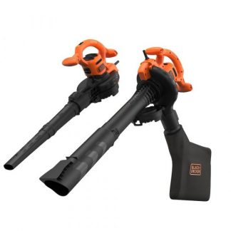 Aspirador soprador e triturador 3 em 1 2600W Black & Decker BEBLV260-QS