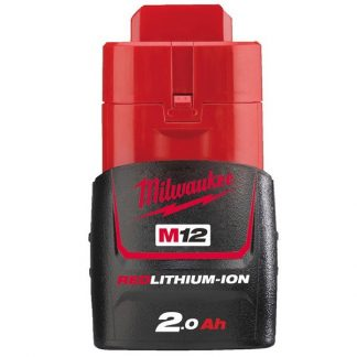 Bateria M12B2 Redlithum-Ion 2.0Ah Milwaukee