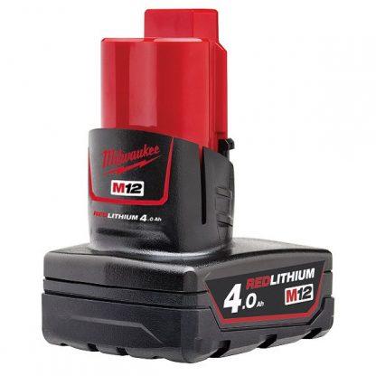 Bateria M12B4 Redlithum-Ion 4.0Ah Milwaukee