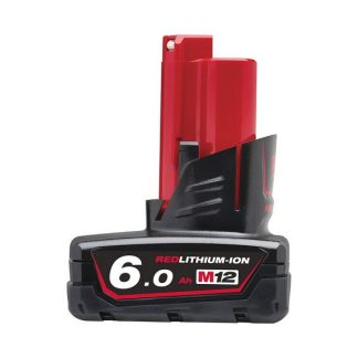 Bateria Redlithium-ion M12B6 12V 6.0Ah Milwaukee