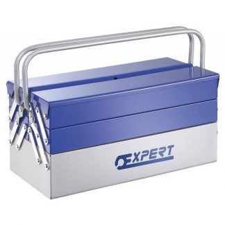 Caixa de ferramentas Metálica 5 Divisões Expert E194738