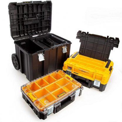 Oficina movel mala de ferramentas Dewalt TSTAK DWST83411-1