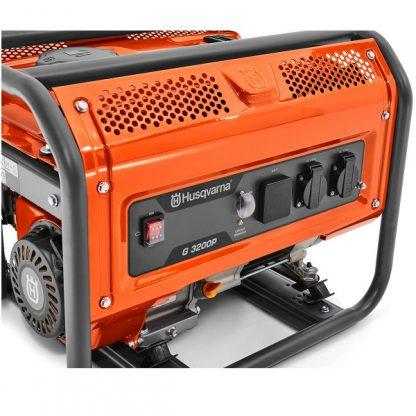 Gerador a gasolina monofásico husqvarna G3200P