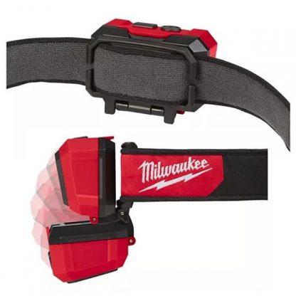Lanterna frontal Milwaukee capacete 4933471388