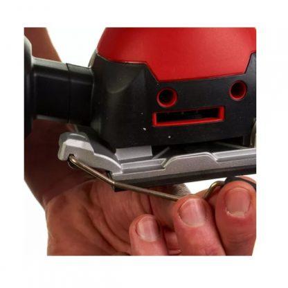 Lixadora vibratória 260W, 14700rpm, tamanho da lixa 113x105mm, 28000opm, diâmetro de oscilação 1,6mm