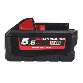 Bateria M18HB5.5 Redlithium-Ion High Output 5.5Ah Milwaukee