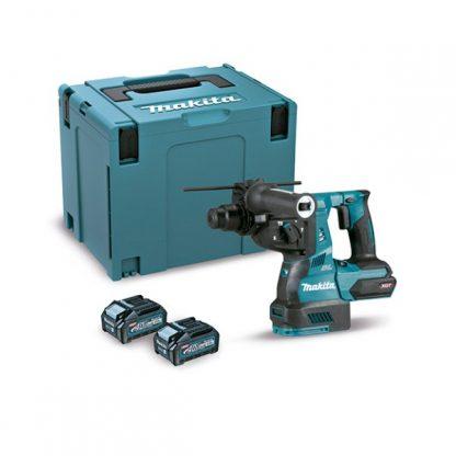 Martelo Ligeiro BL 40Vmax XGT 28mm SDS-PLUS 4Ah 2 baterias 3 modos mala Makpac