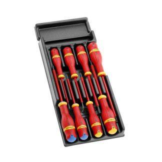 Módulo 8 chaves de punho Isoladas Facom MOD.AT1VE
