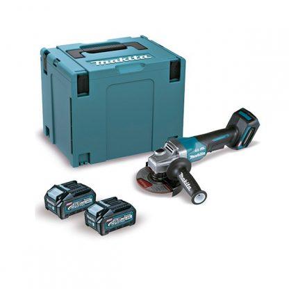 Rebarbadora BL 40Vmax XGT 125mm Palanca 4Ah 2 baterias AFT mala Makpac