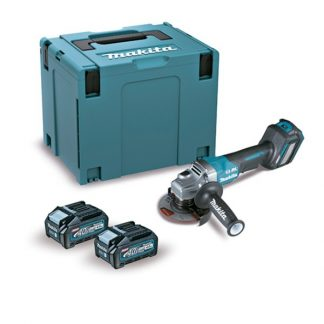 Rebarbadora BL 40Vmax XGT 115mm Palanca 4Ah 2 baterias Freno/Dial/AFT/AWS mala Makpac