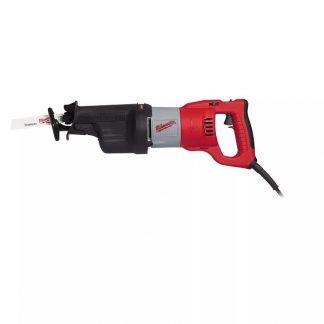 Serra sabre SAWZALL™ 1300W, curso 32mm, 0-3000gpm, pega rotativa, AVS, FIXTEC™, embraiagem de segurança. Fornecida em kitbox