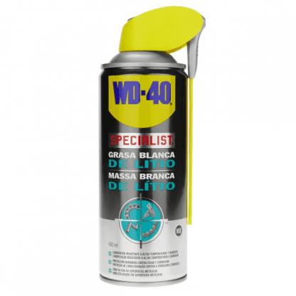 Massa de lítio branca em spray wd-40