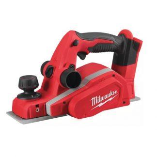Plaina M18™, 14000rpm,largura de corte 82mm, profundidade máxima 10,7mm. Fornecida em versão zero