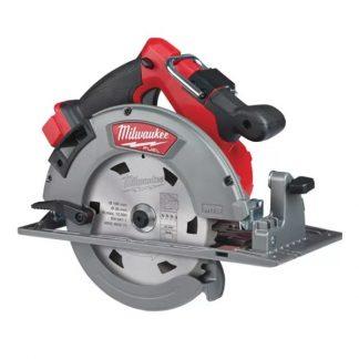 Serra circular para madeira M18 FUEL™, diâmetro de disco 190mm, profundidade máxima de corte 66mm, 5800rpm. Fornecida em versão zero